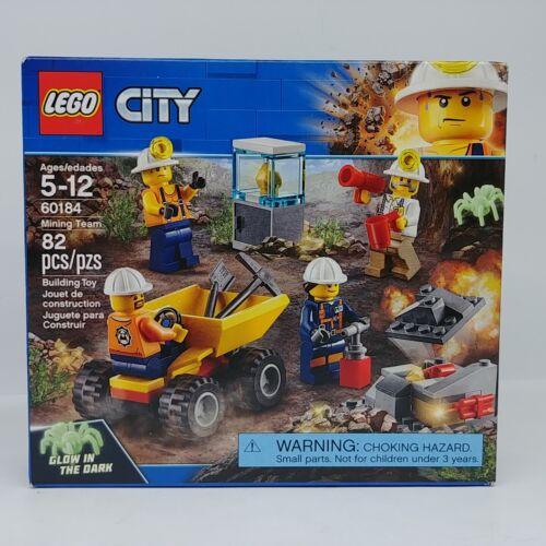 Lego 60184 City Mining Team New Sealed Glow in Dark Spider