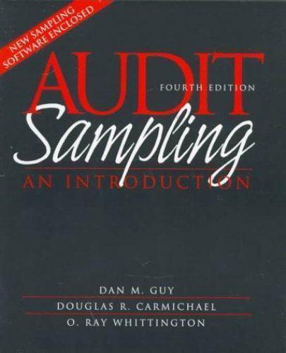 Audit Sampling : An Introduction