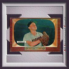 1955 Bowman BOB NIEMAN #145 EXMT *stunning card for your set* M40C