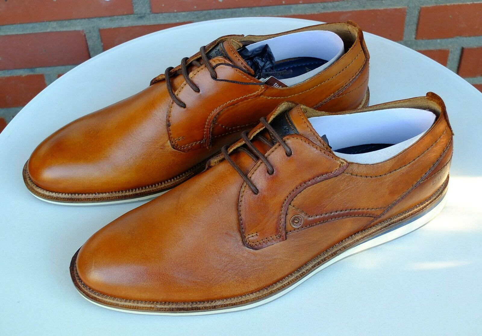 Gr. Look Used Schuhe Schnürhalbschuhe Halbschuhe 40 Bugatti