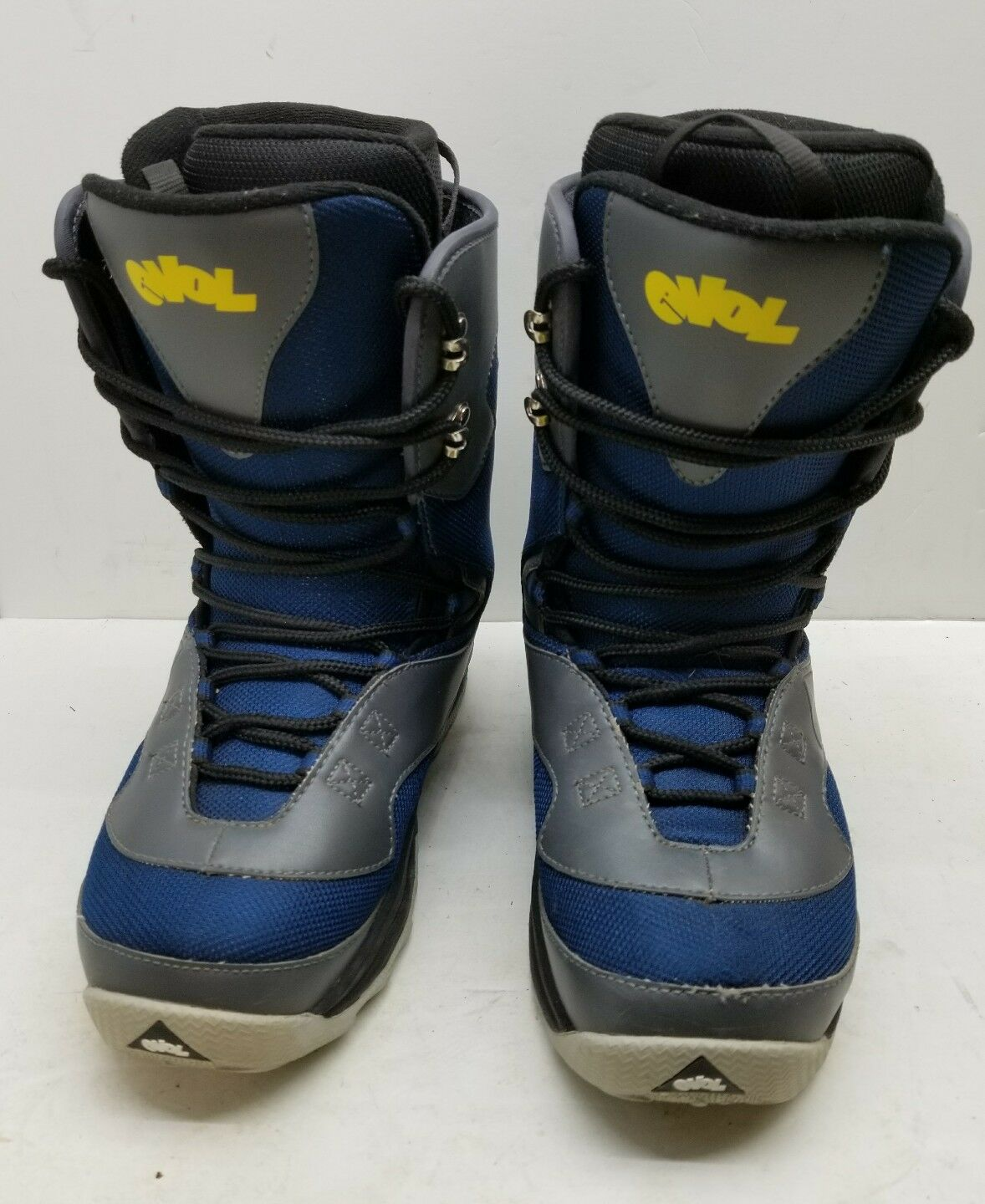 Evol Womens bluee Snowboard Boots US size 8  excellent Condition1B