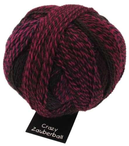 "Crazy Zauberball 100g  Schoppel Farbe 2082 /""Charisma/"" Wolle Sockenwolle"