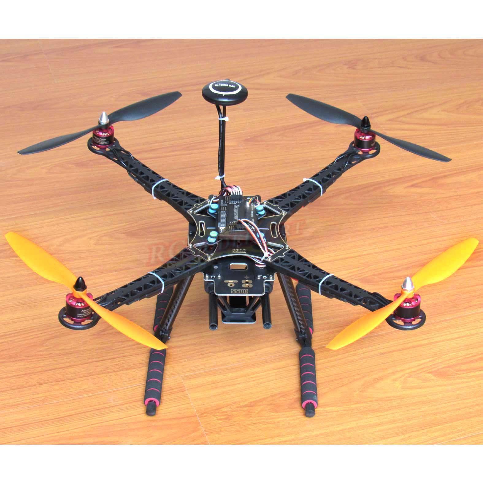Diy - s500 quadcopter apm2.8 fc neo-7m gps hp2212 920kv bl - simonk 30a esc