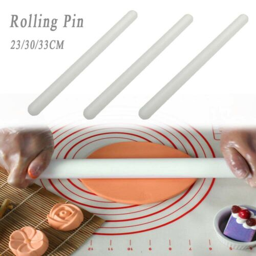 Decorating Non Stick Fondant Pastry ABS Plastic Rolling Pin Cake