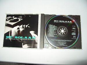 MC-Solaar-Qui-Seme-le-Vent-Recolte-le-Tempo-1993-16-Tracks-Ex-Condition