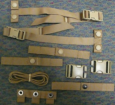 NEW USMC MODULAR TACTICAL VEST MTV SCALABLE PLATE CARRIER REPAIR & STRAP KIT