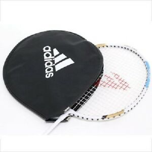 Adidas Black Badminton Racket Head Cover Padded Case Storage High Quality