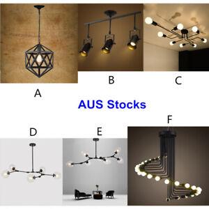 Large-Chandelier-Lighting-Black-Pendant-Light-Kitchen-Lamp-Bedroom-Ceiling-Light
