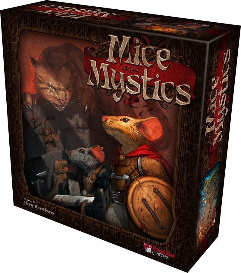 MICE MICE MICE AND MYSTICS BOARD GAME 61190e