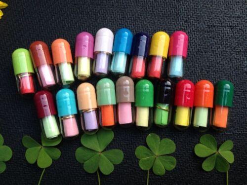 50Pcs Pills Distinctive Endearing Cute Love Message Capsule Adorable
