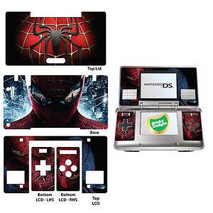 Spiderman-Carcasa-de-Vinilo-Adhesivo-para-Nintendo-Ds-Original