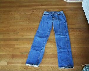 5fadbef7fef LEVI'S 501 BUTTONFLY JEANS HIGE MONTANA RANCH VINTAGE 29X34 | eBay