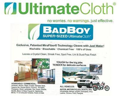 ULTIMATE CLOTH STREAK FREE ECO-friendly BAD BOY