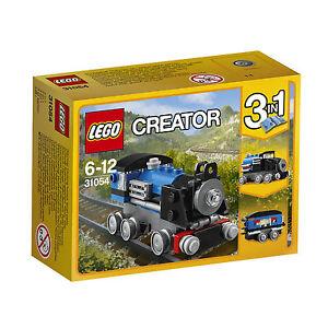 LEGO-Creator-Blauer-Schnellzug-31054