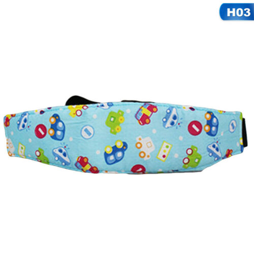 1X Adjustable Child Kids Safety Car Seat Travel Sleep Aid Head Strap Support