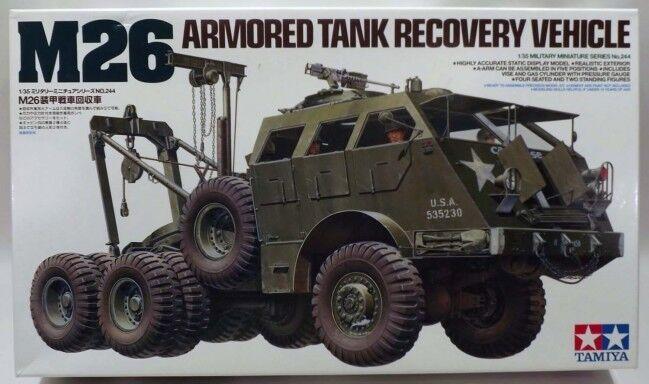 Tamiya 1  35 skala M26 Tank återvinningsfordon