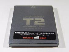 Terminator 2 Judgment Day Blu-ray Steelbook [Korea] KimchiDVD OOS/OOP RARE W/FS