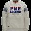 miniature 1 - PME Legend Homme Pull Long Manche Encolure en R PTS191501 Léger Gris M L Ou XL
