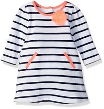 e08b0fbe3 Gymboree Toddler Girls Striped French Terry Dress Pink Convertible ...