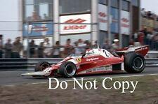Clay Regazzoni Ferrari 312 T2 Dutch Grand Prix 1976 Photograph