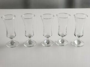 Set-Of-5-Cordial-Glasses-Handblown