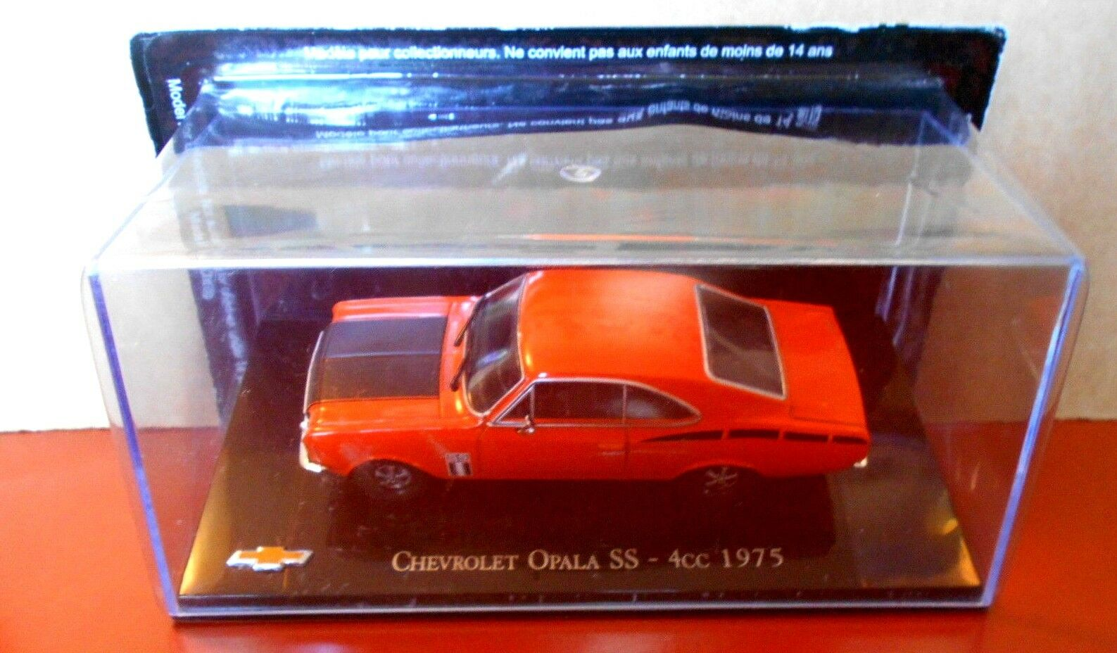 "MUERE EL MOLDE "" CHEVROLET OPALA SS - 4cc - - - 1975 ESCALA 1 43  calidad de primera clase"