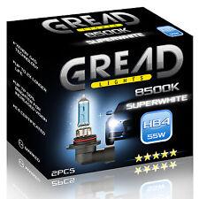 HB4 GREAD 55W 8500K XENON LOOK OPTIK HALOGEN LAMPEN E-PRÃœFZEICHEN SUPER WHITE
