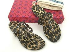 74396c135 item 5 Tory Burch MILLER Flip Flop Thong Leopard Patent Leather Sandal 4.5  US -Tory Burch MILLER Flip Flop Thong Leopard Patent Leather Sandal 4.5 US