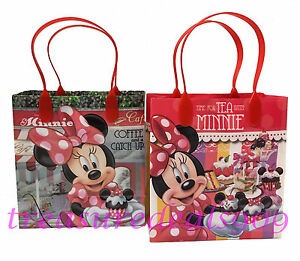 Image Is Loading 12 Pc Disney Minnie Mouse Goo Gift Bags