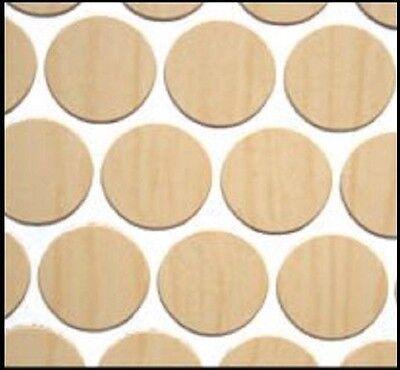 """en PVC Autocollante bouchon à vis couvre en roche dure Maple 52 14 mm fastcap 9//16/"""""""