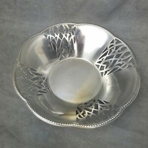 arrives good texture size 7 Details about Alessi Metal Fruit Bowl Made In Italy Inox 18/10
