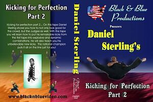 Daniel-Sterling-039-s-Kicking-For-Perfection-Volume-2-Instructional-DVD