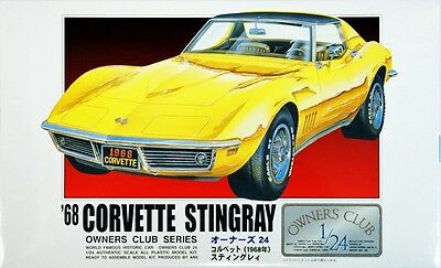 Arii Owners Club 1/24 19 1968 Corvette Stingray 1/24 scale kit (Microace)