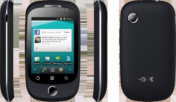ZTE T12 Uno Black 3G 2.8'' Screen 2.0MP Camera NextG Android 2.3.5 Unlocked