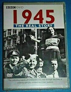 1945-The-Real-Story-DVD-World-War-II-NEW-SEALED-Region-4