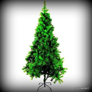 Christmas Tree 7 Ft Tall Prelit Artificial Clear Metal