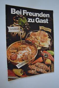 DDR-Kochheft-Rezeptheft-034-Bei-Freunden-zu-Gast-034-Verlag-fuer-die-Frau