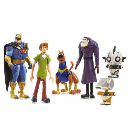 Scooby-Doo-Scooby 5 Action Figure Pack-Shaggy Blue Falcon Dastardly Dick