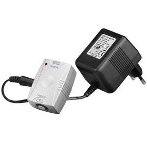 Audio-Koaxial-optical-optisch-Adapter-Wandler-Cinch-auf-Opto-mit-rotem-Licht
