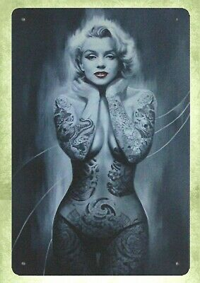 "Niagara Marilyn Monroe Vintage Poster Art 10/"" X 7/"" Reproduction Metal Sign I108"