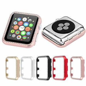 huge selection of d5545 14ecb Details about Apple Watch Case Cover Protective Frame Shell&Bling Crystal  Rhinestone 38/42mm