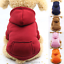 Dogs-Clothes-Sports-Sweater-Warm-Soft-Hoodie-Jumper-Coat-Cat-Pet-Costume-Apparel thumbnail 1