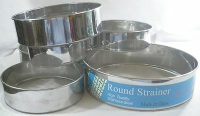 Tamis de cuisine en inox farine filtre patisserie