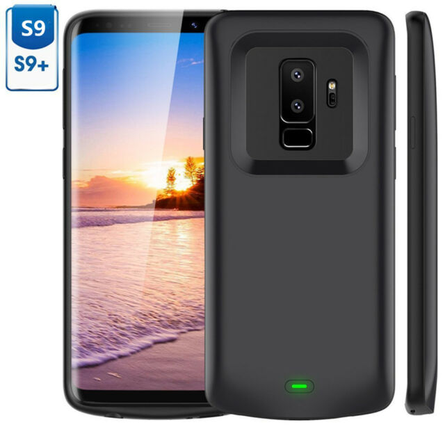 premium selection 882a9 50c1d 5200mAh Extended Battery Case Charging Cover Power Pack for Samsung S9/ S9  Plus