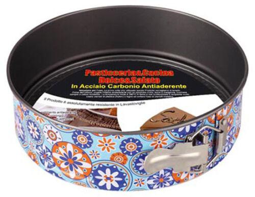 Betty Crocker 26cm Springform Pan Antiadherente Pastel Estaño Bandeja de Horno Resorte cargado