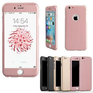 360-Full-Cover-fuer-Apple-iPhone-6s-7-Plus-Schutz-Huelle-Bumper-Case-Panzerglas