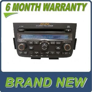 new 05 06 acura mdx radio 6 disc changer cd player rear entertainment system dvd ebay. Black Bedroom Furniture Sets. Home Design Ideas