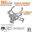 miniatura 3 - Kit pince robot métal alu 2 DOF   Gripper robotique MG995 Arduino PIC ARM STM