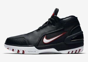 266e19737ce AJ4204-001  MEN S NIKE LEBRON AIR ZOOM GENERATION QS BLACK WHITE ...