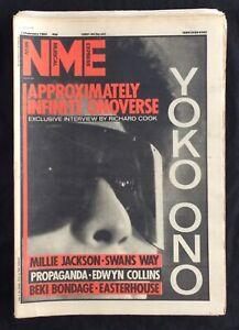 NME-11-February-1984-Yoko-Ono-Millie-Jackson-Swans-Way-Propaganda-Edwyn-Collins